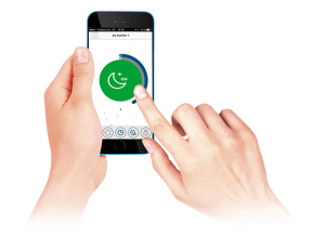 aplikacja mobilna airdog x5