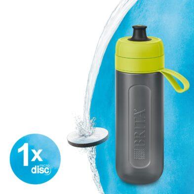 Brita Waterfilterbottle Active Freshlime 0.6l Hero Visual 1